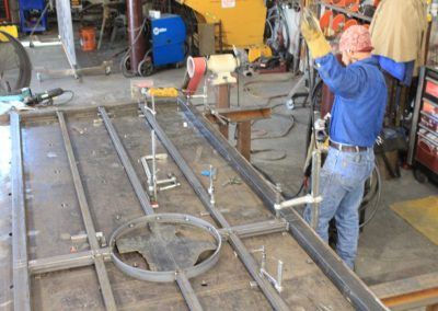 iron texas ranch gate fabrication