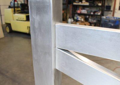 hiding aluminum welds