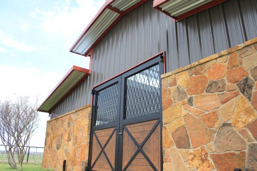 aluminum barn doors
