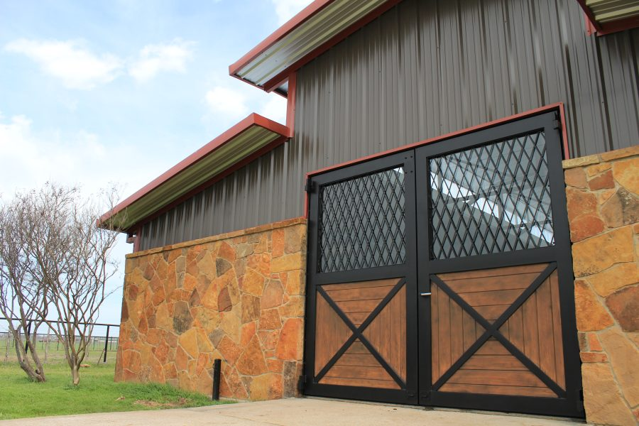 aluminum horse barn doors
