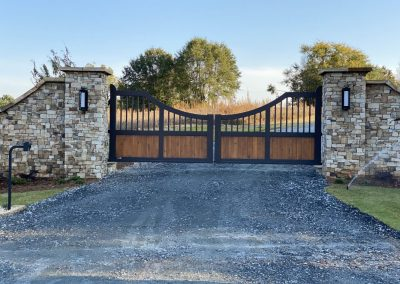 georgia custom ranch gate
