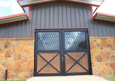 horse ranch fancy doors
