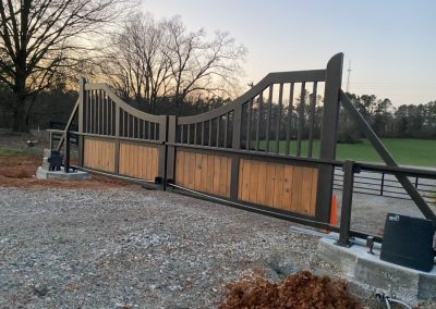 new aluminum ranch gates