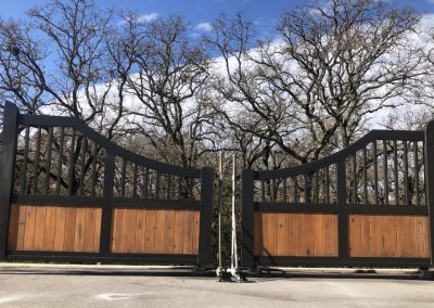 aluminum ranch gates
