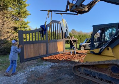 unloading gates shipped