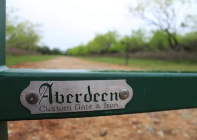 aberdeen ranch gate