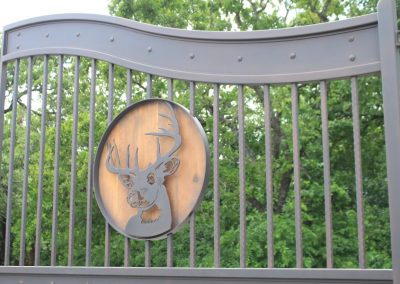deer head gate