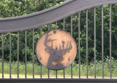 aluminum deer head gate