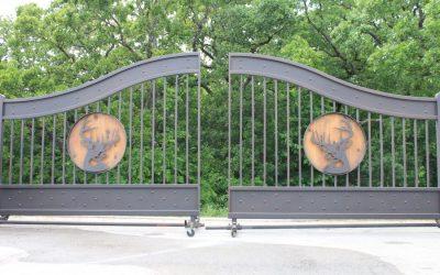 Steel vs Aluminum Driveway Gates
