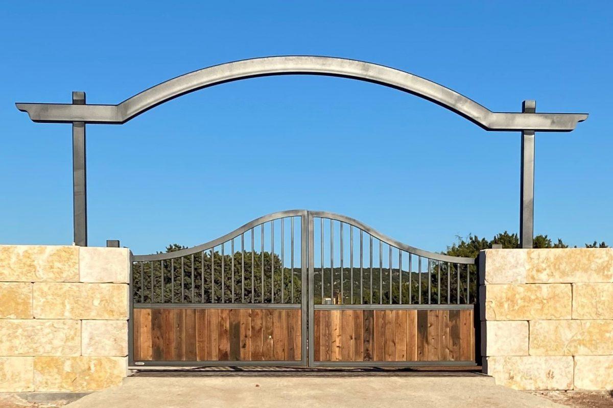 west texas ranch gate