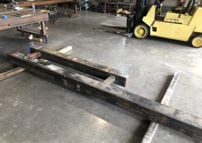 gate header construction