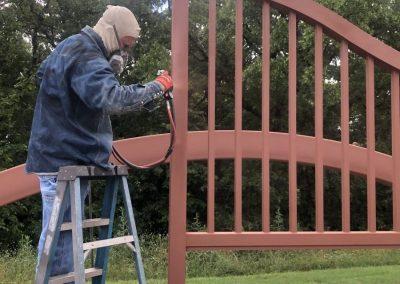 priming iron ranch gates