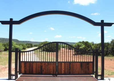 ranch gate design