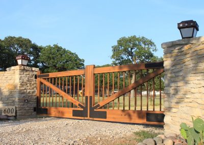 ranch gate entrance