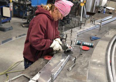 aluminum custom gate fabrication