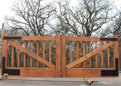 Oklahoma Aluminum Ranch Gate